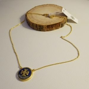 Tory Burch stone necklace